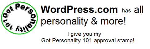 WordPress.com My Stamp Of Approval