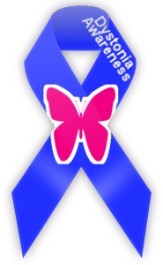 Dystonia Awareness ribbon